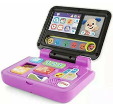 Click & Learn Laptop Interactive Educational Toy for Kids Fisher Price 40+ Tunes