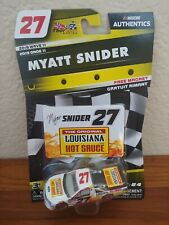 2019 Wave 11 Myatt Snider Louisiana Hot Sauce 1/64 NASCAR Authentics Diecast