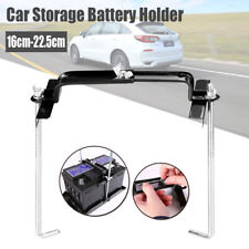 Car Storage Battery Holder Adjustable Stabilizer Metal Rack Mount Bracket Stand