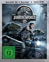 JURASSIC WORLD (3D)  BLU-RAY NEU