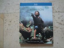THE MISSION *rare* OOP FNAC exclusive BluRay DigiBook Robert DeNiro Jeremy Irons