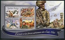 TOGO 2016  ARMY & AIRFORCE OF THE UNITED STATES  SHEET MINT NH
