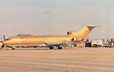 Braniff B-727-200 Airplane Postcard
