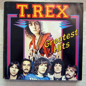 LP / T.REX / GREATEST HITS / FRANCE PRESSUNG / RARITÄT /