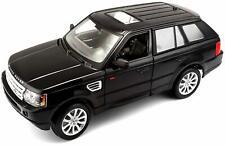 RANGE ROVER SPORT 1:18 Scale NEW Model Diecast Toy Car Miniature Black