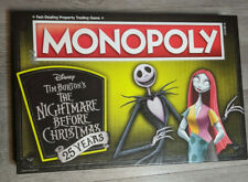 The Nightmare Before Christmas 25th Anniversary Monopoly Game, Missing 2 Parts