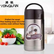 1.2L Space Vacuums Insulated Stainless Steel Thermal Soup Container Food Box AU