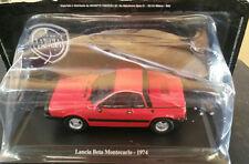 "DIE CAST "" LANCIA BETA MONTECARLO - 1974 "" + TECA RIGIDA BOX 2 SCALA 1/43"