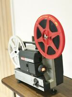 EUMIG MARK 502 SUPER 8 STD 8 CINE MOVIE FILM PROJECTOR FULLY SERVICED