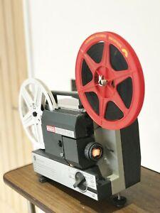 EUMIG MARK 502 SUPER 8 STD 8 CINE MOVIE FILM PROJECTOR FULLY SERVICED ready