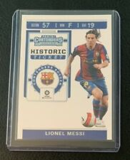 2019-2020 Panini Chronicles Lionel Messi Rookie Ticket