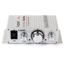 Voiture Moto MP3 MP4 Hi-Fi Stéréo Audio Mini Amplificateur Haut-Parleur 12V