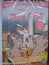 Angelina Ballerina - Show & Tell (DVD 2013) New Sealed PAL Region 2