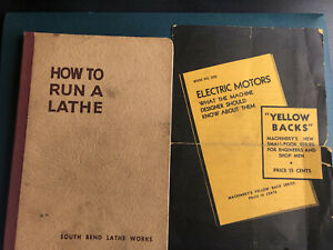 How To Run A Lathe Vol.1 Ed.53 Care & Operation of Screw Cutting Lathe 1954
