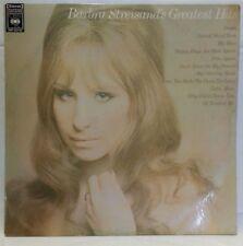 BARBRA STREISAND - vintage vinyl LP - Barbra Streisand's Greatest Hits