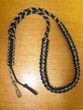 Turkey / Deer / Duck / Predator Call Paracord Lanyard (camo & black) Hand Made