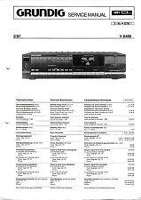 Service Manual-Anleitung für Grundig V 8400