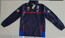 Western Bulldogs 2018 Mens Wet Weather Jacket Size M ASICS With Tags WB