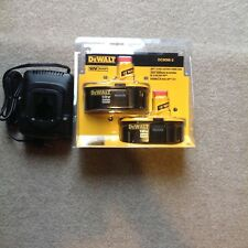 2- Brand New DeWALT DC9096-2 18-Volt 2.4-HP XRP Ni-Cd Battery - With new charger