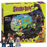 Scoobynatural Sam Dean Castiel Scooby Doo Supernatural Building Block Figure