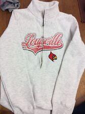 University of Louisville Cardinals Sweatshirt Size Women's 4-6 NWT