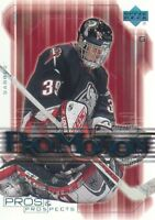 2000-01 UD Pros and Prospects ProMotion Hockey Cards Pick From List