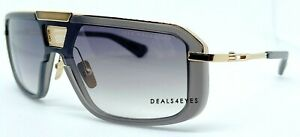 New Authentic Dita Mach Eight DTS400-A-02 Crystal Grey GLD /GRY Gradient Brown