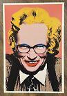 MR BRAINWASH LARRY KING POST CARD PRINT 2008 CARD MBW street art urban pop