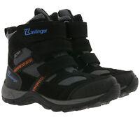 Kastinger Montevaldo Winter-Boots atmungsaktive Kinder Outdoor-Schuhe Schwarz