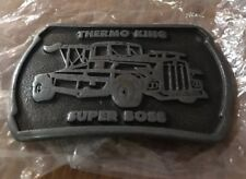 THERMO KING SUPER BOX BELT BUCKLE INDIANA METAL CRAFT NEW