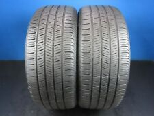 2 Used Continental ContiProContact SSR RFT  225 50 18  6-8/32 Trd No Patch D1800