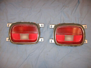 77-78 AMC GREMLIN TAIL LIGHT LENS SET L & R SPIRIT EAGLE KAMMBACK 79 80 81 82