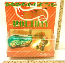 1995 Hot Wheels Holiday Premiere Series Kris Kringle Jingle Bell Jalopy  MIP