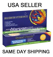 3X10g SPEED Numb Tattoo Numbing Cream USA Seller! Same Day Shipping!!!!