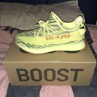 Adidas Yeezy Boost 350 v2 Semi Frozen Yellow UK9