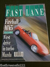 FAST LANE - MX-5 TURBO LOTUS CARLTON - DEC 1990