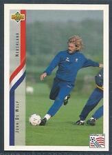 UPPER DECK WORLD CUP USA 1994- #137-NEDERLAND/HOLLAND-JOHN DE WOLF