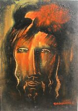GIANDANTE X (Dante Pescò Milano 1899-1984) VOLTO encausto cm 35x50 anno 1966