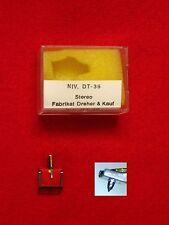 Tête de lecture NIVICO DT 36 remplacement aiguille pfeifer dt36 stéréo nouveau OVP tourneurs aiguille