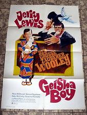 JERRY LEWIS * GEISHA-BOY - WA-A1-FILMPOSTER  German 1-Sheet R70s
