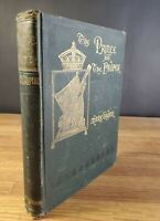 1882 The Prince and the Pauper Mark Twain 1st Edition James Osgood & Co illust