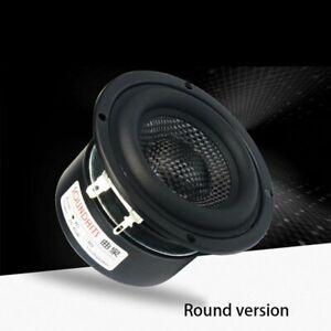 4 ohm~8 ohm 3 inch speaker 25~50W woofer subwoofer hifi speaker unit glass fiber