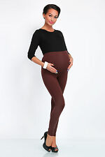 Winter Thick Heavy Warm Cotton Maternity Pregnancy Leggings Full Ankle Length