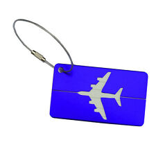 Luggage Tag Travel Bag Label Suitcase ID Baggage Address Card Holder Gift