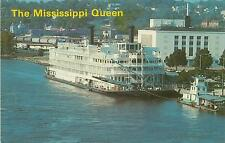 THE MISSISSIPPI QUEEN POSTCARD - BURLINGTON IOWA PC