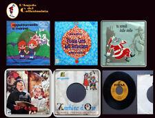 lotto 6  dischi ZECCHINO D'ORO - CANTI di NATALE - CORO dell'ANTONIANO - OCCASIO