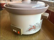 Vintage swan slow cooker 2.5 litres in GWO.
