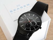 SKAGEN Titanium 809XLTBB Super-Thin Men's Watch MINT IN BOX