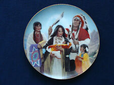 Hamilton Collection Plate -The Naming Ceremony from Proud Indian Families- 1991