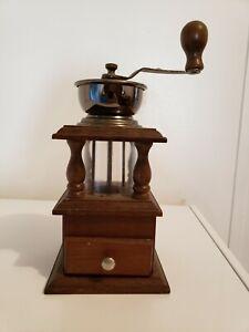 antique coffee mill grinder